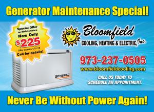 generator repairs Morris county nj