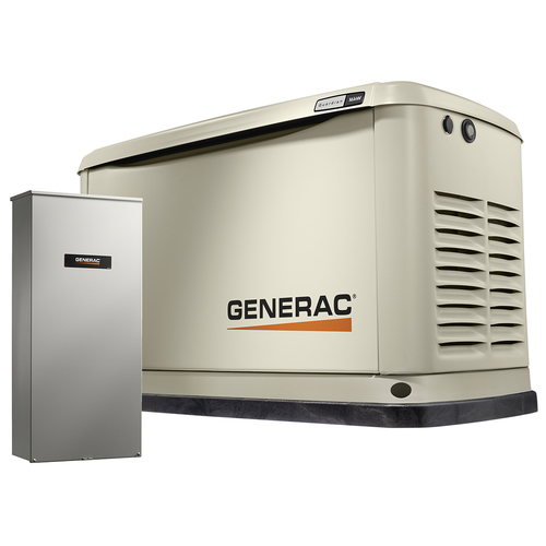 The Generac11kW Home Backup Generator, WiFi enabled. Photo, Generac Power Systems, Inc.