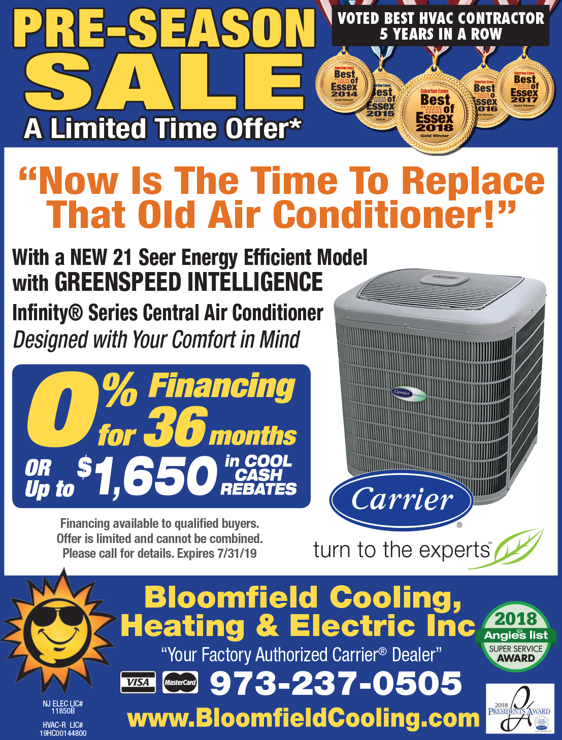 A/C Installation Sale - Bloomfield Cooling, Heating & Electric