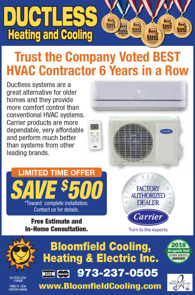 Bloomfield Cooling and Heating Ductless