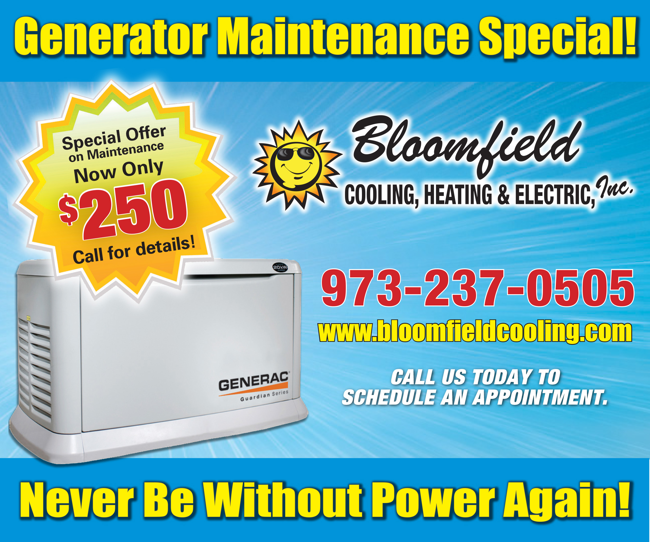 Generator repair service essex county nj