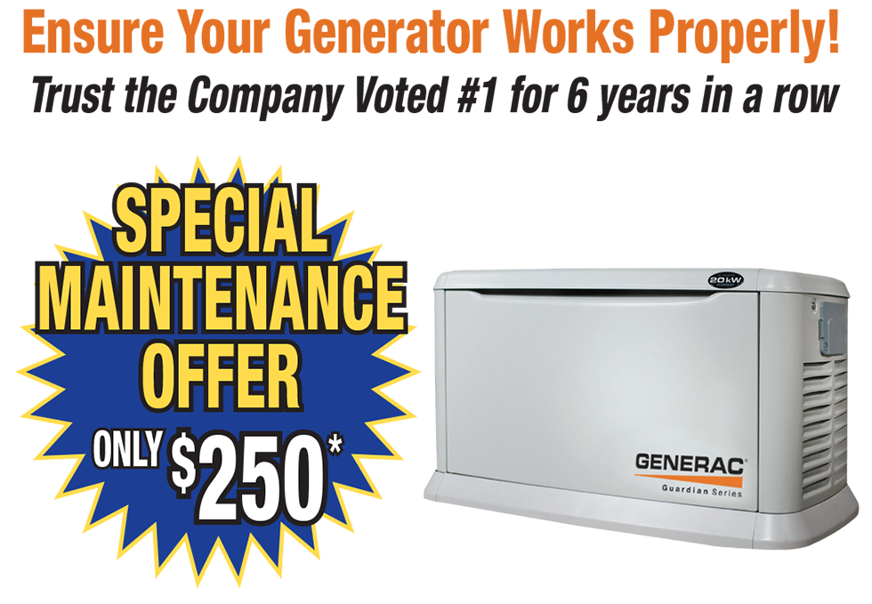 Bloomfield Cooling, Heating & Electric - 2021 Generator Special